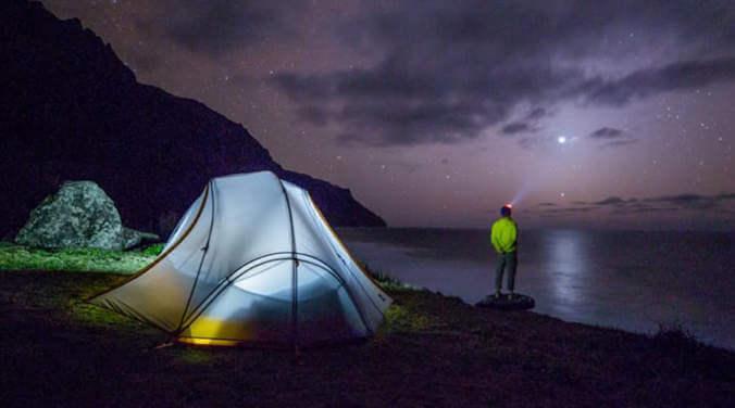 Mit dem passenden Zelttyp steht dem Camping nichts im Wege